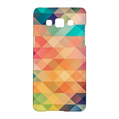 Texture Background Squares Tile Samsung Galaxy A5 Hardshell Case