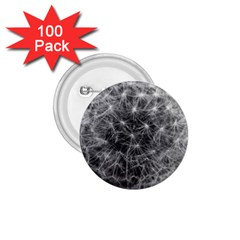 Dandelion Fibonacci Abstract Flower 1 75  Buttons (100 Pack)