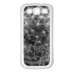 Dandelion Fibonacci Abstract Flower Samsung Galaxy S3 Back Case (white)