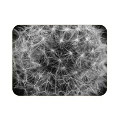 Dandelion Fibonacci Abstract Flower Double Sided Flano Blanket (mini)