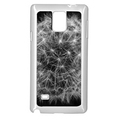 Dandelion Fibonacci Abstract Flower Samsung Galaxy Note 4 Case (white)