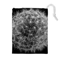 Dandelion Fibonacci Abstract Flower Drawstring Pouches (extra Large) by Nexatart