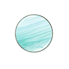 Blue Texture Seawall Ink Wall Painting Hat Clip Ball Marker (4 Pack)