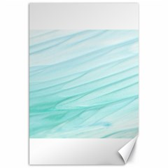 Blue Texture Seawall Ink Wall Painting Canvas 20  X 30