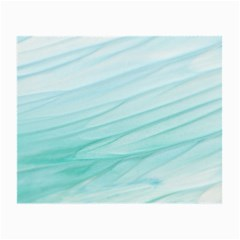 Blue Texture Seawall Ink Wall Painting Small Glasses Cloth (2 Side)