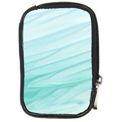 Blue Texture Seawall Ink Wall Painting Compact Camera Cases