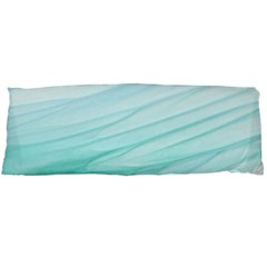 Blue Texture Seawall Ink Wall Painting Body Pillow Case (dakimakura)