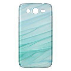 Blue Texture Seawall Ink Wall Painting Samsung Galaxy Mega 5 8 I9152 Hardshell Case