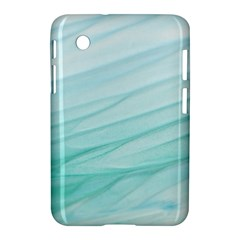 Blue Texture Seawall Ink Wall Painting Samsung Galaxy Tab 2 (7 ) P3100 Hardshell Case
