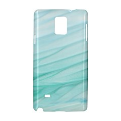 Blue Texture Seawall Ink Wall Painting Samsung Galaxy Note 4 Hardshell Case