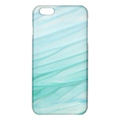 Blue Texture Seawall Ink Wall Painting Iphone 6 Plus/6s Plus Tpu Case
