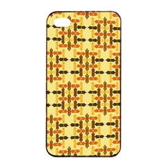 Ethnic Traditional Vintage Background Abstract Apple Iphone 4/4s Seamless Case (black)