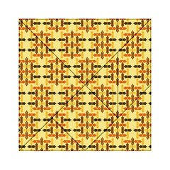 Ethnic Traditional Vintage Background Abstract Acrylic Tangram Puzzle (6  X 6 )