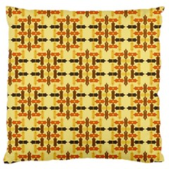 Ethnic Traditional Vintage Background Abstract Large Cushion Case (two Sides)