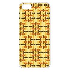Ethnic Traditional Vintage Background Abstract Apple Iphone 5 Seamless Case (white)