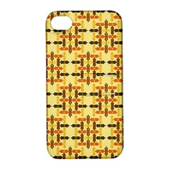 Ethnic Traditional Vintage Background Abstract Apple Iphone 4/4s Hardshell Case With Stand