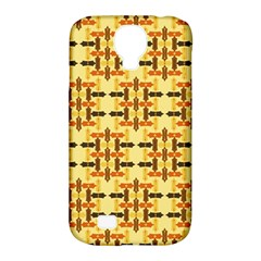 Ethnic Traditional Vintage Background Abstract Samsung Galaxy S4 Classic Hardshell Case (pc+silicone)
