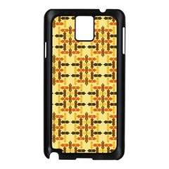 Ethnic Traditional Vintage Background Abstract Samsung Galaxy Note 3 N9005 Case (black)