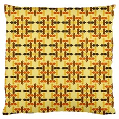 Ethnic Traditional Vintage Background Abstract Large Flano Cushion Case (two Sides)