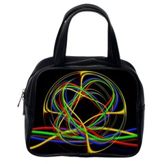 Ball Abstract Pattern Lines Classic Handbags (one Side)