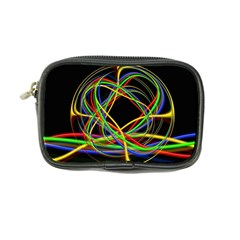 Ball Abstract Pattern Lines Coin Purse