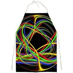 Ball Abstract Pattern Lines Full Print Aprons