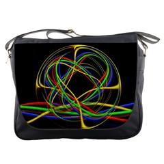 Ball Abstract Pattern Lines Messenger Bags