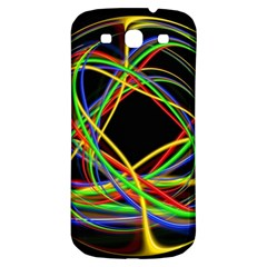 Ball Abstract Pattern Lines Samsung Galaxy S3 S Iii Classic Hardshell Back Case