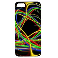Ball Abstract Pattern Lines Apple Iphone 5 Hardshell Case With Stand