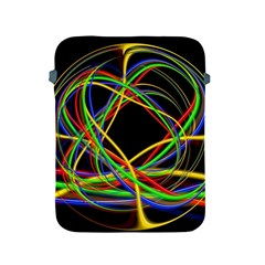 Ball Abstract Pattern Lines Apple Ipad 2/3/4 Protective Soft Cases