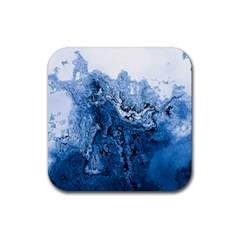Water Nature Background Abstract Rubber Coaster (square)