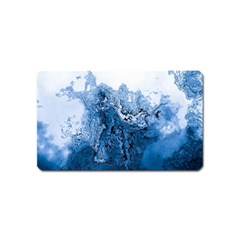 Water Nature Background Abstract Magnet (name Card)