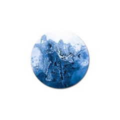 Water Nature Background Abstract Golf Ball Marker (4 Pack)