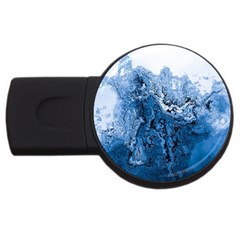 Water Nature Background Abstract Usb Flash Drive Round (2 Gb)