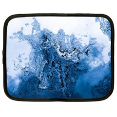 Water Nature Background Abstract Netbook Case (xl)