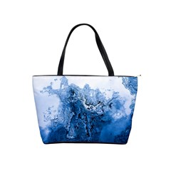 Water Nature Background Abstract Shoulder Handbags
