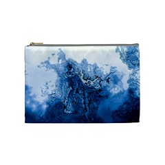 Water Nature Background Abstract Cosmetic Bag (medium)