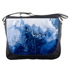 Water Nature Background Abstract Messenger Bags