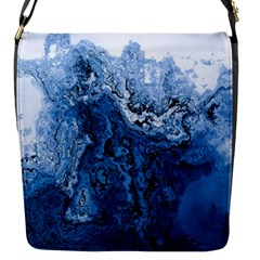 Water Nature Background Abstract Flap Messenger Bag (s)