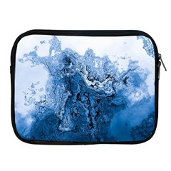 Water Nature Background Abstract Apple Ipad 2/3/4 Zipper Cases