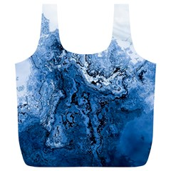 Water Nature Background Abstract Full Print Recycle Bags (l)