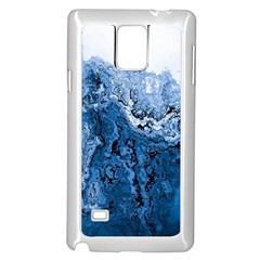 Water Nature Background Abstract Samsung Galaxy Note 4 Case (white)