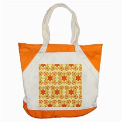 Background Floral Forms Flower Accent Tote Bag