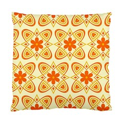 Background Floral Forms Flower Standard Cushion Case (two Sides)