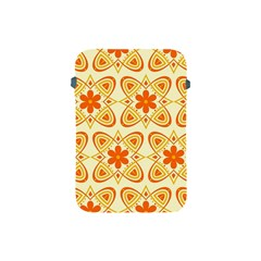 Background Floral Forms Flower Apple Ipad Mini Protective Soft Cases