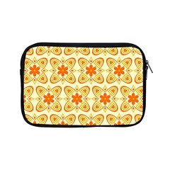 Background Floral Forms Flower Apple Ipad Mini Zipper Cases