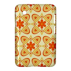 Background Floral Forms Flower Samsung Galaxy Tab 2 (7 ) P3100 Hardshell Case