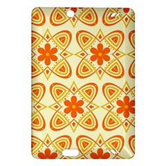 Background Floral Forms Flower Amazon Kindle Fire Hd (2013) Hardshell Case