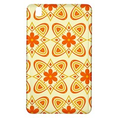 Background Floral Forms Flower Samsung Galaxy Tab Pro 8 4 Hardshell Case by Nexatart