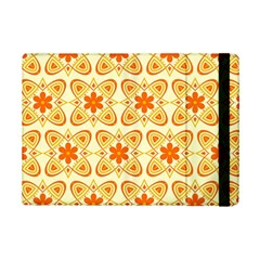 Background Floral Forms Flower Ipad Mini 2 Flip Cases